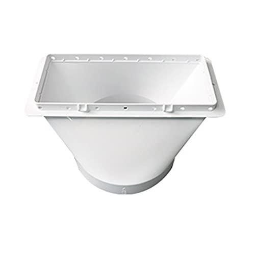 Qingxin Acoplador portátil de la manguera de escape del aire acondicionado del acoplamiento de la interfaz rectangular de la CA del sello de la ventana del acoplamiento del conector
