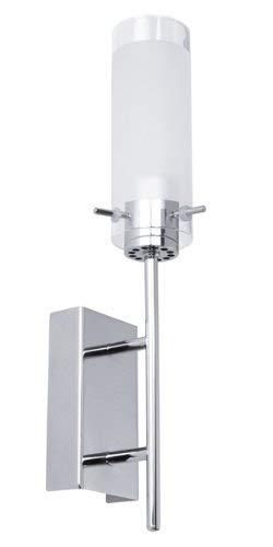 EGLO 91547 Wandfackel, Metall, transparent