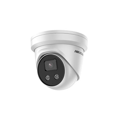 Hikvision - Cámara Hikvision IP PoE IR H.265 + Cámara de torreta de - DS-2CD2346G2-I