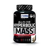 fitnesshealth USN Hyperbolic Mass Gain Shake Powder - Vanilla, 2 kg by USN