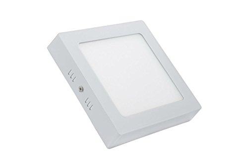 TDRSHINE Square Led Surface Warm White 3000-3500k Super Bright LED Panel Licht Decke Downlight Lampe Kit mit LED Treiber AC 85-265V (12W)
