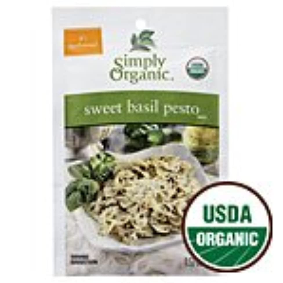 Simply Organic Sweet Basil Pesto Seasoning Mix, ORGANIC