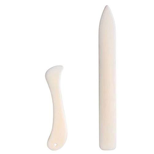 Greenlans Falzwerkzeug für Papier/Leder/Kunsthandwerk, Kunststoff, 2 Stück