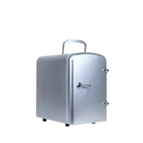 Mxsnow El Mini Refrigerador De Belleza Snjiaheim Es Adecuado para Productos para El Cuidado De La Piel Y Cosméticos Refrigerador Portátil Compacto para-Silver||29 * 19 * 26.8cm