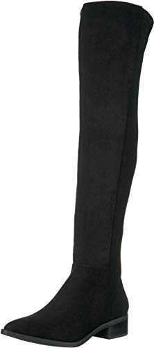 Steve Madden Jolly Over-The-Knee Boot Black 5.5