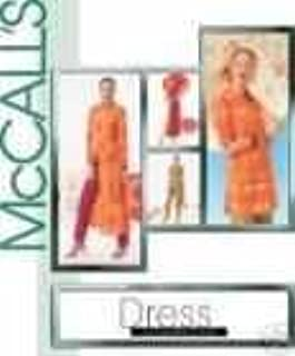 Mccall's Sewing Pattern 4078 DRESS ALTERNATIVES Misses' TOP, DUSTER, DRESS AND PANTS