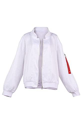 Enhopty Tokyo Revengers Valhalla Kazutora Hanemiya White Jacket Coat Cosplay Costumes Herren M