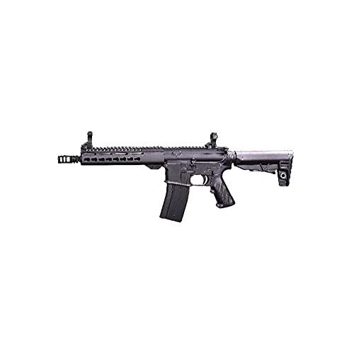 Fusil eléctrico Airsoft 330 fps 1 J M4 F6641 keymod Negra Golden Eagle Rifle réplica 6 mm (Incluye batería li-po y Cargador)