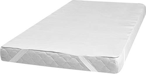 Playshoes 770902 matras Molton waterdicht en ademend, 100 x 200 cm, wit