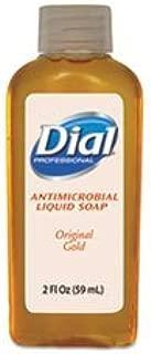 Dial Gold Antimicrobial Soap, Liquid 2 oz. Bottle Fresh Scent, DIA06059 - Case of 48