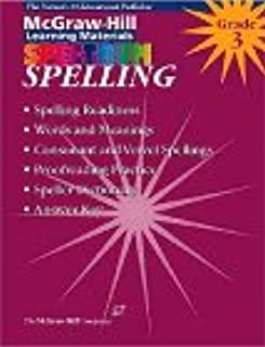 Spelling: Grade 3 (McGraw-Hill Learning Materials Spectrum)