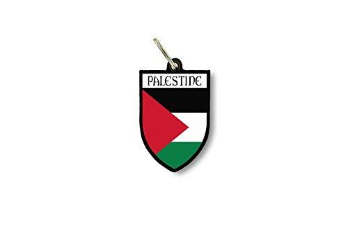 Sleutelhanger Sleutelhanger Ring Vlag Nationale Souvenir Schild Palestina