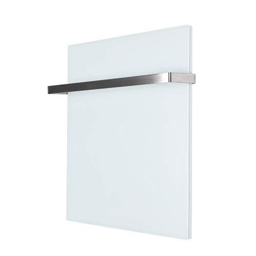 Infrarot-Heizung Heiz-Paneel 100W 50x32cm Elektroheizung Glas Panel Weiß Bild 4*