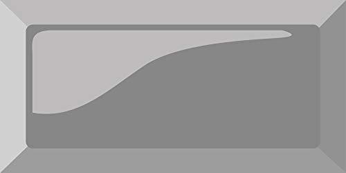 269515 Decoratieve Tegel Sticker 15 x 15 cm Dome Metro Grijs