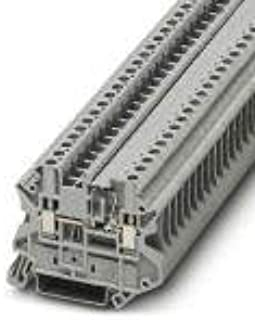 UT 4-MTD-DIO/L-R, Component Terminal Block, with Integrated diode, Connection Method: Screw Connection, Number of Connections: 2, Cross Section:0.14 (10 Items)