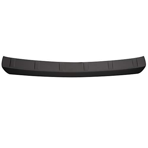 Aroba AR604 Ladekantenschutz kompatibel für Opel Mokka (vor Facelift) ab BJ. 11.2012 bis 09.2016 Stoßstangenschutz passgenau mit Abkantung ABS Farbe schwarz