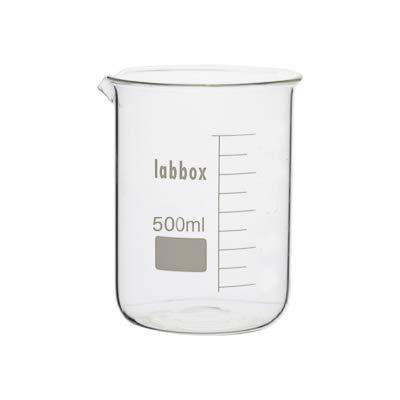 Vaso de precipitados vidrio borosilicato LBG 3.3 (500ml, 1)