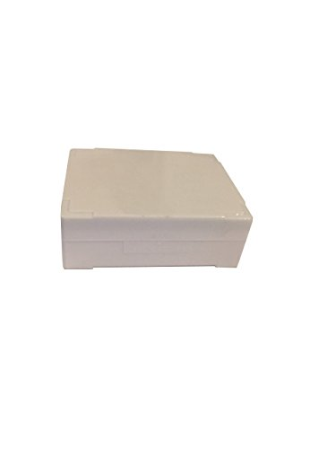 C & A Scientific - Premiere 97-0025 White ABS Plastic Microscope Slide Box