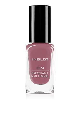 Inglot O2M Atmungsaktiver Nagellack, Luft-und wasserdurchlässig, Hält den Nagel langanhaltend in optimalem Zustand 11 ml : 411