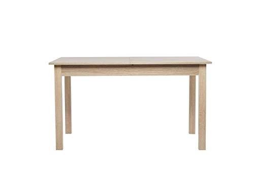 AVANTI TRENDSTORE - Colima - Tavolo da Pranzo, allungabile per 40 cm, in Legno Laminato, Disponibile...