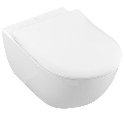Villeroy & Boch Subway 2.0 WC-Kombi-Pack mit Ceramic+ - 2