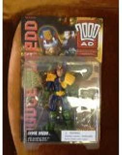 Reaction Figures Judge Dredd --2000AD with Lawgiver Mark 11 & Birdie Lie Detector---Action Figure