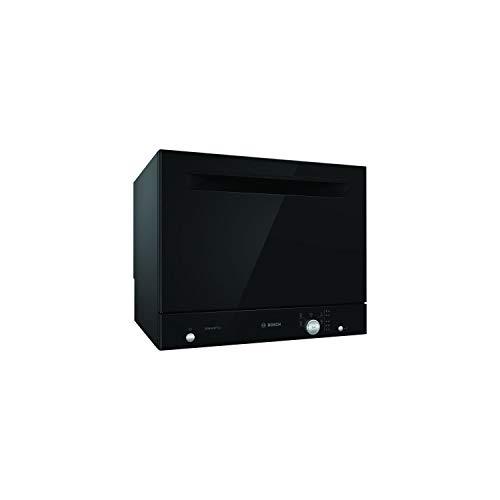 BOSH SKS51E36EU Lavastoviglie a libera installazione compatta - 6 coperti - 49 dB - A + - 55 cm - Nero - Motore EcoSilence Drive