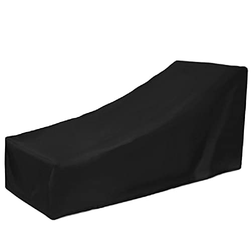 unknows Funda para sillón reclinable, Chaise Lounge Cover Funda de Tela Oxford para Tumbona Protector de Polvo para Exterior, hogar, Patio, sofá, Fundas para Muebles Longue