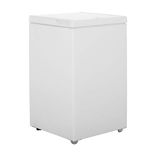 INDESIT OS1A100 - Congelador (53 cm de ancho, 100 L), color blanco