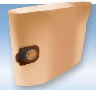 Bolsas de filtro de papel (10 unidades) para aspiradora Soteco modelos Windy 403-415 - 423-429 - 433-440-2-2