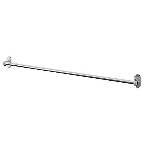 IKEA FINTORP - Estantes de cocina y baño para restaurantes y cocinas, ganchos, elegir el artículo a continuación (tipo de artículo: A41-Rail Nickel 79cm)