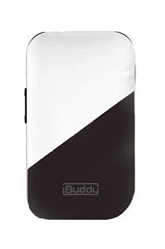 iBuddy is iqos互換機 加熱式タバコ アイコス互換機 電子タバコ スターターキット 連続吸引 温度調節 USB充電 アイバディ (シルバー×ブラック)