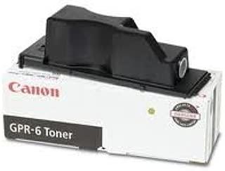 Canon Genuine Brand Name, OEM 6647A003AA (GPR6) GPR-6 Black Laser Toner Cartridge (15K YLD)