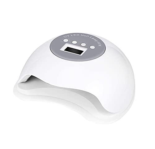 TDMYCS UV Lámpara de uñas del Gel 6 0w LED Secador de uñas rápido de la luz de uñas for el curado de Polaco de Gel con 4 temporizadores Sensor automático,for la manicura de Esmalte de uñas de Gel