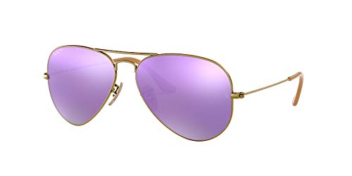 Fashion Shopping Ray-Ban Rb3025 Classic Mirrored Aviator Sunglasses