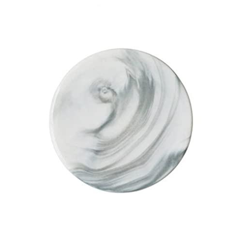 ABCABC Posavasos de cerámica Patrón de mármol Café de Taza de té para la Tabla Placemats Inicio Escritorio Decoración Accesorios Suministros (Color : 1)