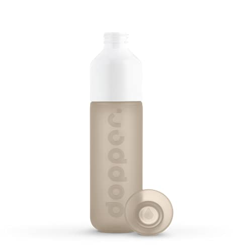 Dopper Botella original reutilizable para bebidas | Botella 3 en 1 Diseño - Taza - Tapa | 450 ml