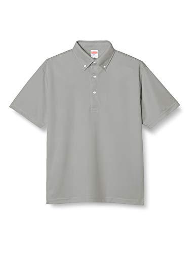 (ユナイテッドアスレ)UnitedAthle ポロシャツ 4.1オンス ドライアスレチック ポロシャツ(ボタンダウン) 592001 13 グレー XXXXL