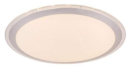 GLOBO 41354-30SH runde LED-Deckenleuchte CARRY, weiß, mit TUYA-System, 30 W, 230 V, 1500 lm, RGB+CCT 3000-6000K
