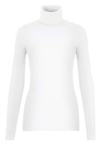 Wolford Damen Viscose Pullover White L