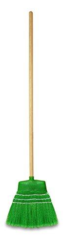 TTS 00005555 Scopa Susy con Setole in PVC, Manico di Legno