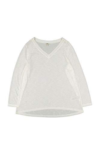 ESPRIT Damen 100EE1K351 T-Shirt, 110/OFF White, 50