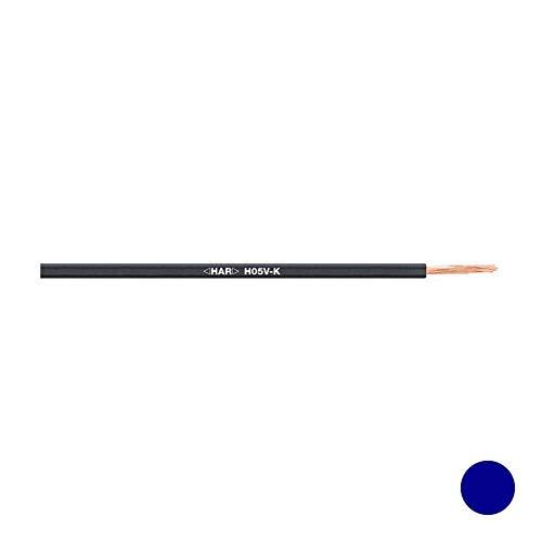 Preisvergleich Produktbild Lapp Kabel Litze H05V-K 1, 0mm² dunkelblau 100M 4510143