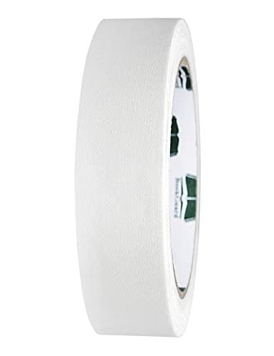 BookGuard 1 Inch Premium Cloth Bookbinding Repair Tape, 15 Yard Roll, White