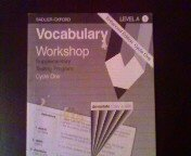 Vocabulary Workshop: Level D, Supplementary Testing Program: Cycle 1, Enhanced Edition