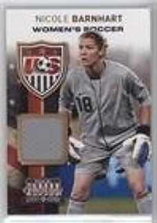 Nicole Barnhart #121/299 (Trading Card) 2012 Panini Americana Heroes & Legends - US Women's Soccer Team - Materials [Memorabilia] #17
