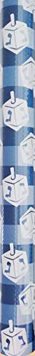 Dreidel Print Design Happy Hanukkah Chanukah Jewish Holiday Heavyweight Premium Specialty Gift Wrapping Paper Roll