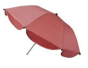 Reer 72145.2–2 en 1 parasol, couleur : rouge