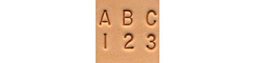 Tandy Leather Craftool� 1/4' (6 mm) Alphabet & Number Set 8137-00