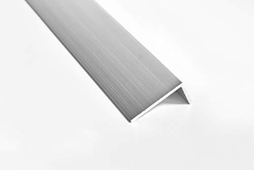 Nielsen Aluminium Winkelprofil Natur (Pressblank) 2000x40x20 mm, Stärke: 2 mm, Länge: 200 cm
